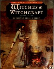 Cover of: The encyclopedia of witches and witchcraft