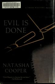 Cover of: Evil is done