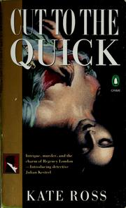 Cover of: Cut to the quick