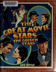Cover of: The great movie stars | David Shipman