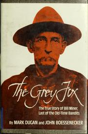 Cover of: The Grey Fox | Mark Dugan