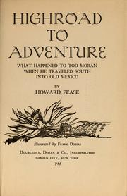 Cover of: Highroad to adventure