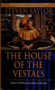 Cover of: The house of the Vestals