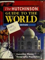 Cover of: The Hutchinson guide to the world |
