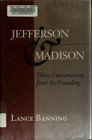 Cover of: Jefferson and Madison