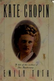 Cover of: Kate Chopin