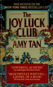 Cover of: The joy luck club | Amy Tan