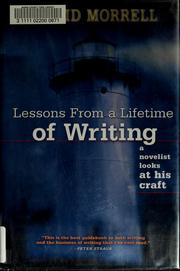 Cover of: Lessons from a lifetime of writing