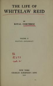 Cover of: The life of Whitelaw Reid