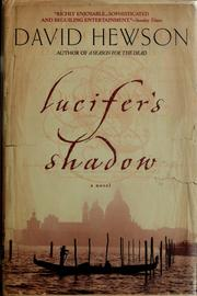 Cover of: Lucifer's shadow