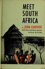 Cover of: Meet South Africa