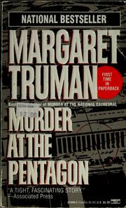 Cover of: Murder at the Pentagon