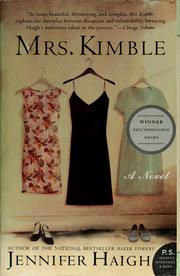 Cover of: Mrs. Kimble | Jennifer Haigh