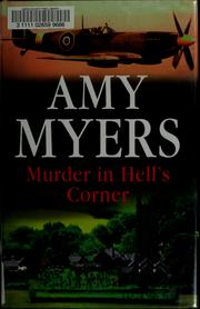 Cover of: Murder in hell's corner