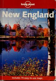 Cover of: New England by Randall S. Peffer