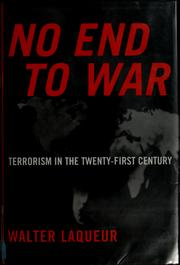 Cover of: No end to war