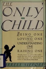 Cover of: The only child