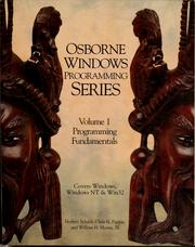 Cover of: Osborne Windows programming series