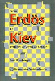 Cover of: From Erdös to Kiev
