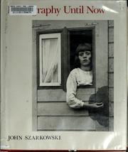 Cover of: Photography until now