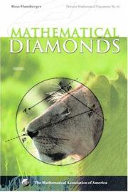 Cover of: Mathematical diamonds