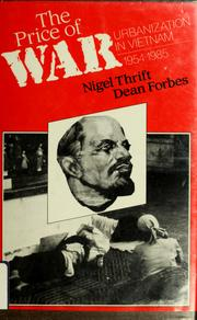 Cover of: The price of war