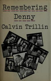 Cover of: Remembering Denny | Calvin Trillin