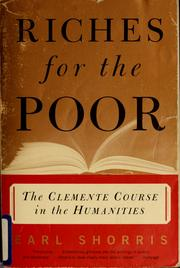 Cover of: Riches for the poor
