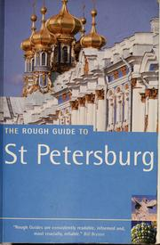 Cover of: The rough guide to St Petersburg | Dan Richardson