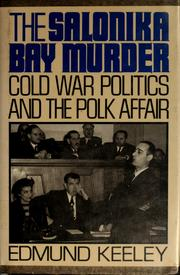 Cover of: The Salonika Bay murder