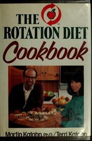 Cover of: The rotation diet cookbook