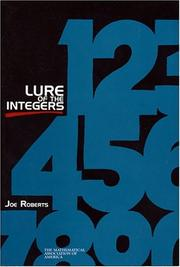 Cover of: Lure of the Integers (MAA Spectrum) (Spectrum)