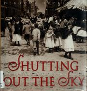 Cover of: Shutting out the sky