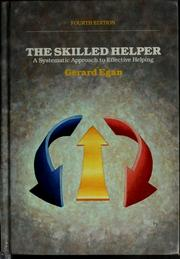 Cover of: The skilled helper by Gerard Egan