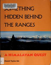 Cover of: Something hidden behind the ranges