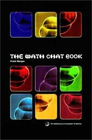 Cover of: The math chat book