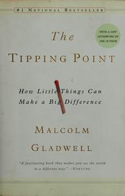 Cover of: The tipping point