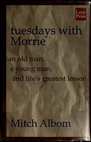 Cover of: Tuesdays with Morrie