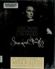 Cover of: A woman on paper
