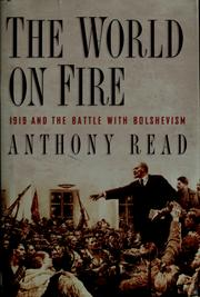 Cover of: The world on fire | Anthony Read