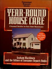 Cover of: Year-round house care | Graham Blackburn