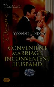 Cover of: Convenient marriage, inconvenient husband