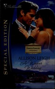 Cover of: A Weaver wedding