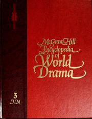 Cover of: McGraw-Hill encyclopedia of world drama