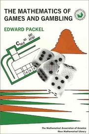 Cover of: The mathematics of games and gambling