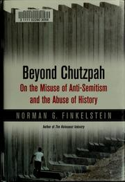 Cover of: Beyond chutzpah