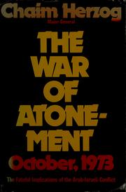 Cover of: The war of atonement