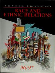 Cover of: Race and ethnic relations 96/97