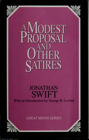 A MODEST PROPOSAL/JOHN SWIFT HELP!?