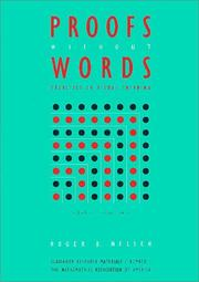 Cover of: Proofs without Words